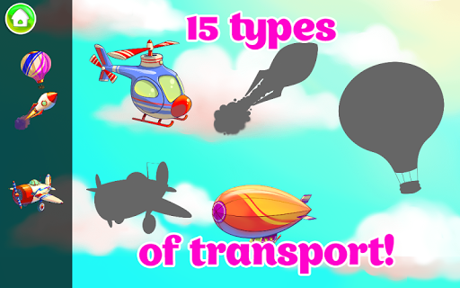 Learning Transport Vehicles for Kids and Toddlers 1.2.1 screenshots 3