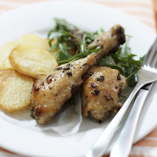 Tarragon Chicken with Crisp Potatoes