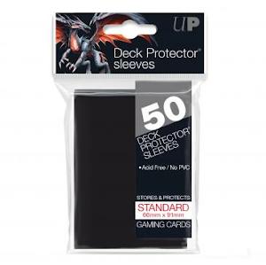 Deck protector (svart baksida) sleeves 50-pack