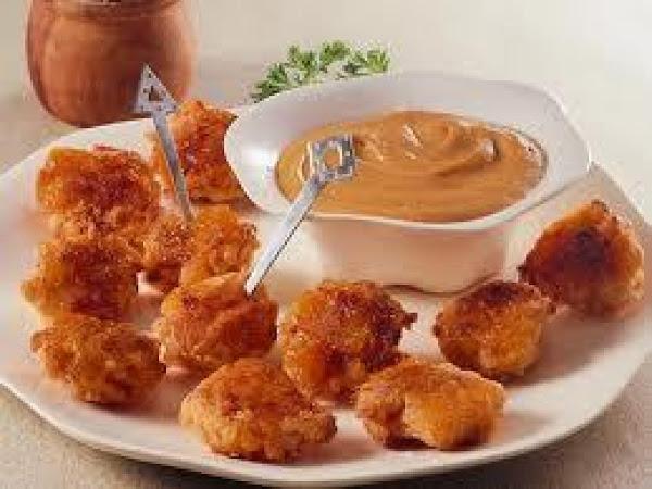 Coconut Chicken Bites/w Apricot Glaze Recipe