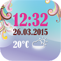 Weather Clock And Date Widget icon