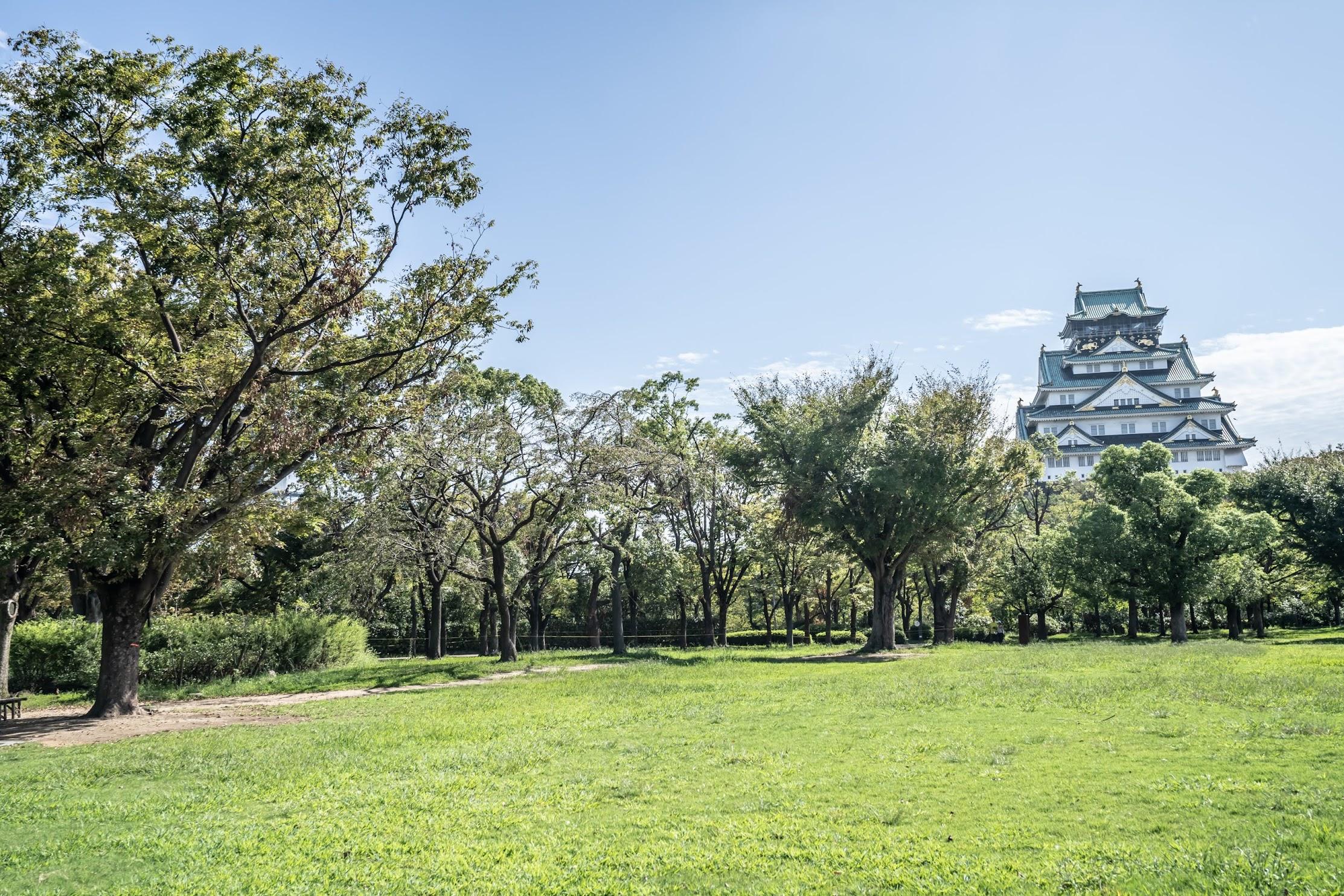 Osaka Castle Park Nishinomaru Garden2