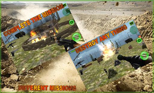 Commando War Jungle Zone