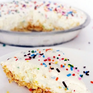 Funfetti Cake Batter Ice Cream Pie {Funfetti Week}