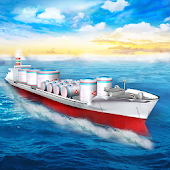 Oil Tanker Cargo Ship Simulator Games 2018