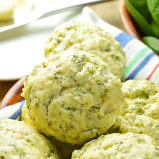 Spinach Feta Scones.