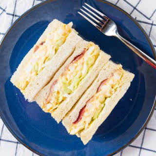 Egg Mayonnaise Bacon Sandwich Recipes.