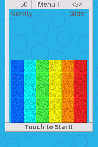 Falling Color Bricks 2- screenshot