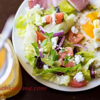 Crazy Delicious Greek Salad.