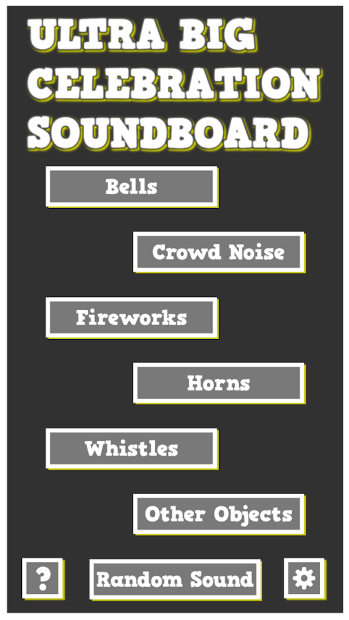 Ultra Big Celebration Soundboard - Sound Effects- screenshot