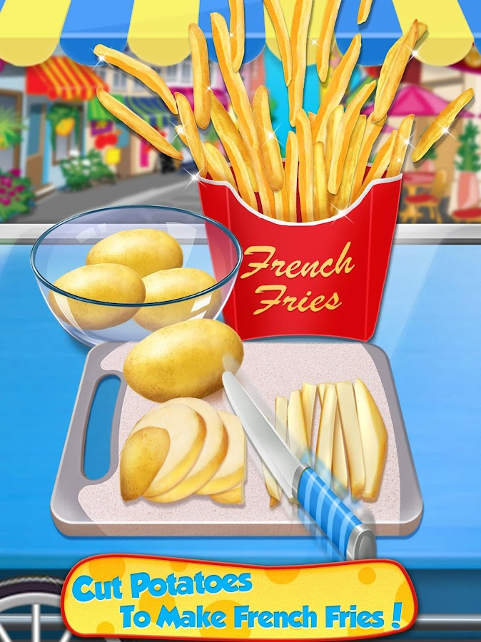 Street Food 2018 - Make Hot Dog & French Fries - App Android su ...