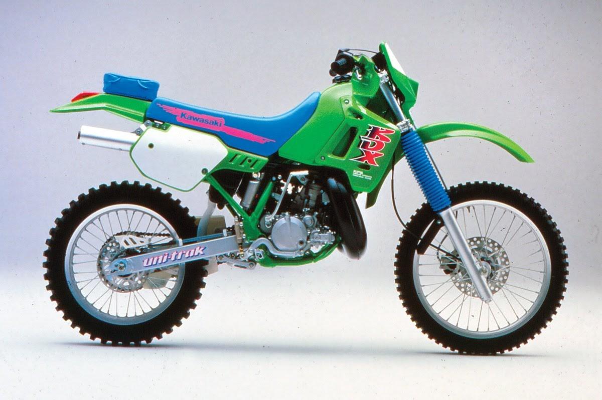 Kawasaki KDX 200-manual-taller-despiece-mecanica