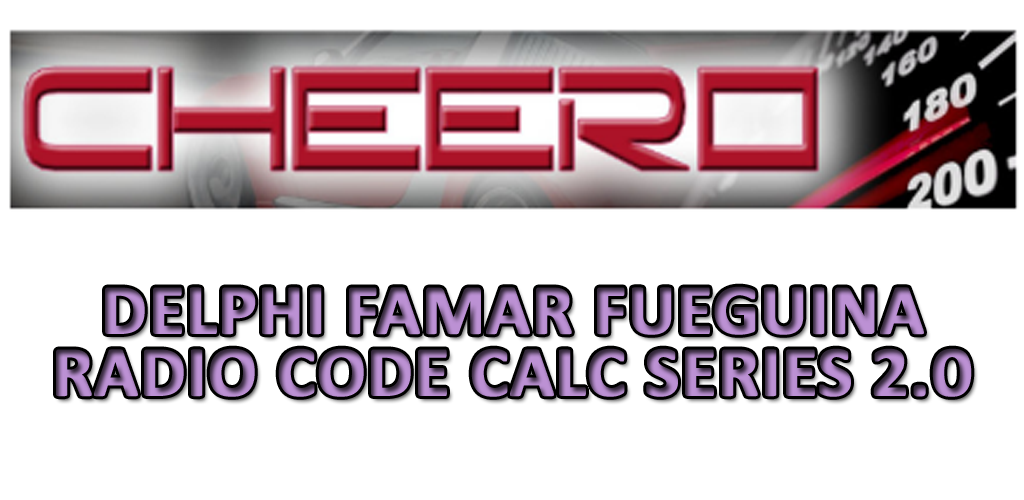 Download DELPHI FAMAR FUEGUINA RADIO CODE CALC BRASIL - NL APK latest  version 7 0 0 for android devices