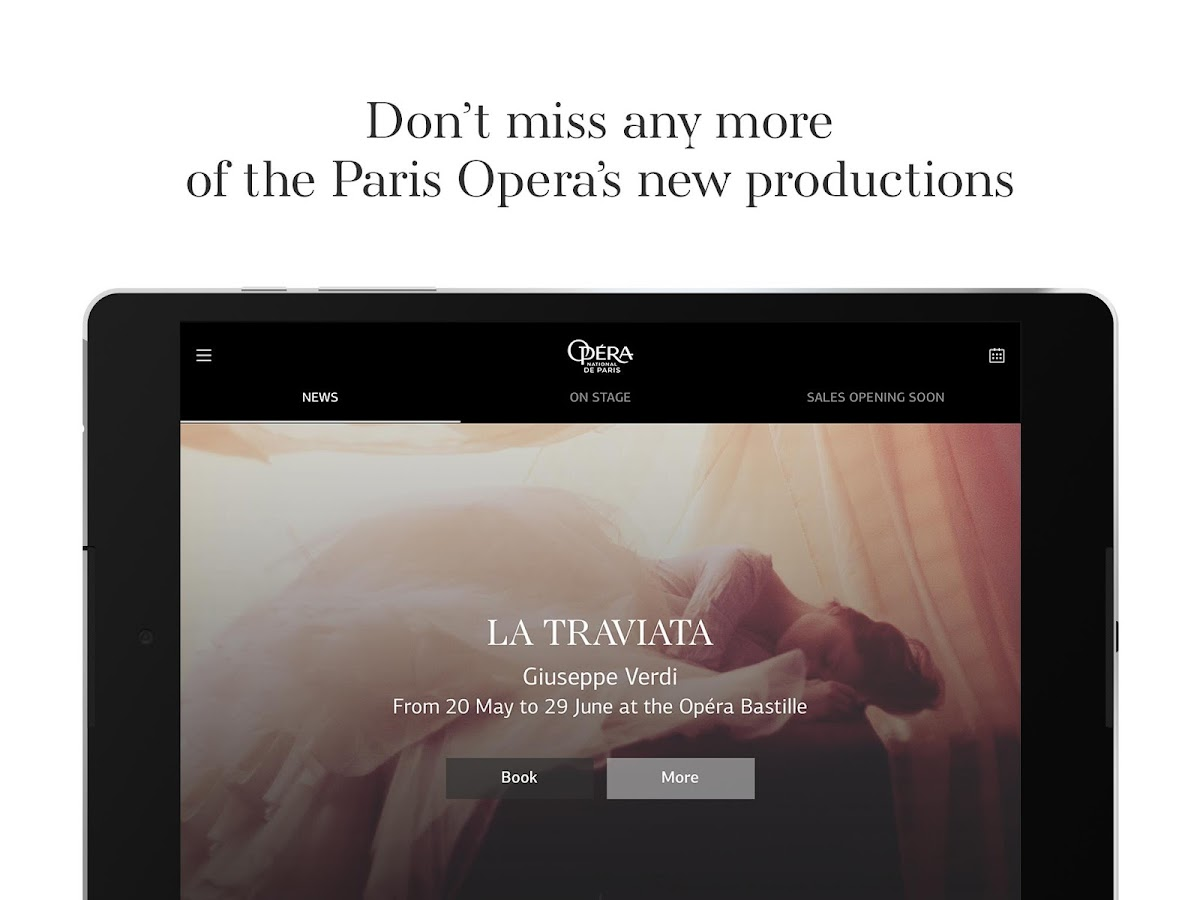 Opéra national de Paris- screenshot