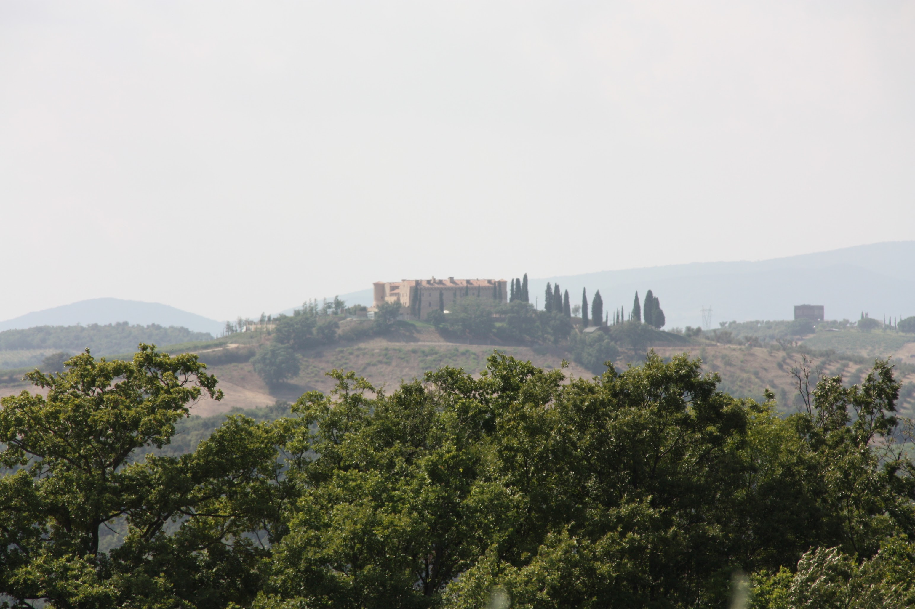 Castello Colle Massari e Cantina Collemassari, in the Montecucco area (Cinigiano)