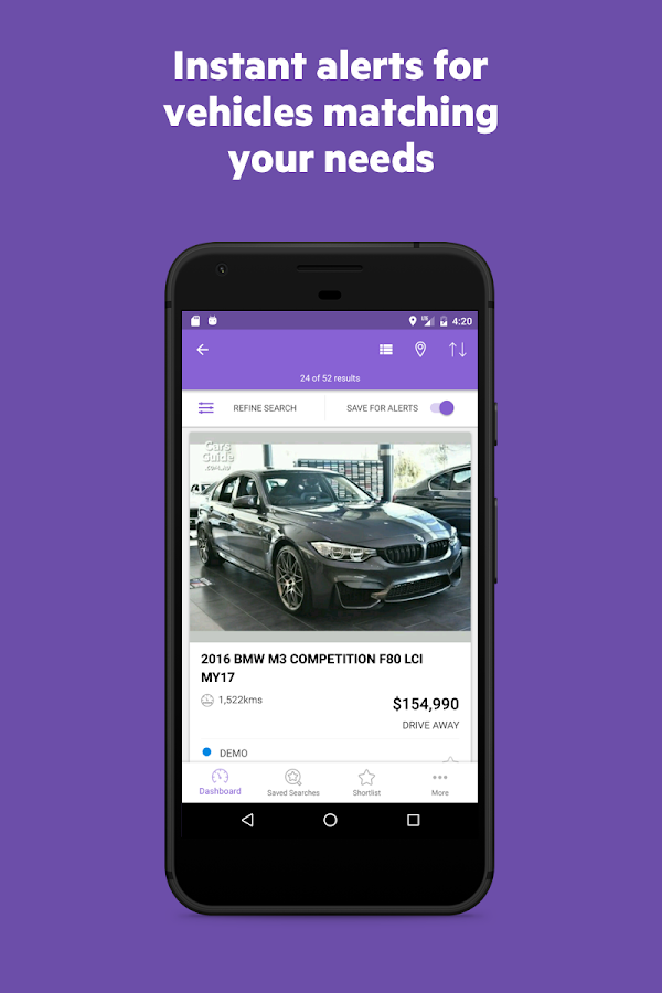 CarsGuide.com.au - Classifieds- screenshot