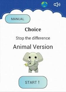 Choice Animal version - náhled