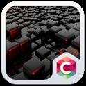 Cool tech theme: Nero Black Magic cube design icon