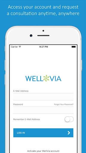 WellVia screenshots 2