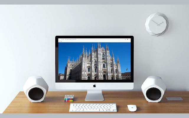 Milano New Tab & Wallpapers Collection