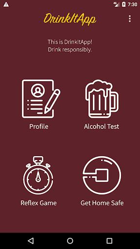 DrinkItApp screenshot 1