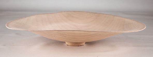 "Photo: Mike Hosaluk's demo ""thin bowl"" from April"