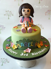 Photo: Dora the Explorer by Cakes by Louise (8/13/2012) View cake details here: http://cakesdecor.com/cakes/25088