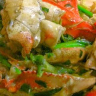 Crab in Ginger Sauce #PhilippineRestaurantMenu