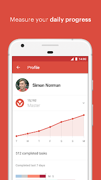 Todoist: To-do-liste APK screenshot thumbnail 3