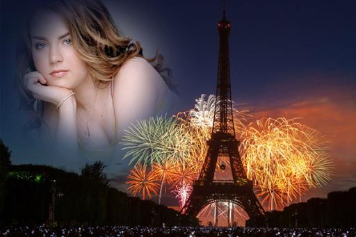 Paris Night Photo Effects