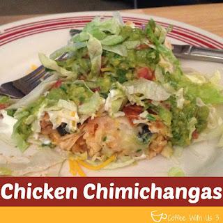 Chicken Chimichangas