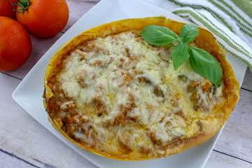 Italian Sausage Spaghetti Squash