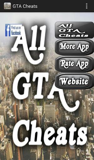 All GTA Cheats for PC Console