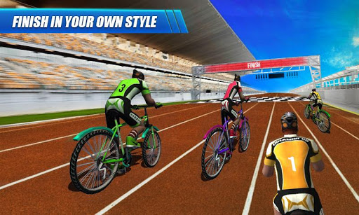 BMX Bicycle Racing Simulator screenshot 9
