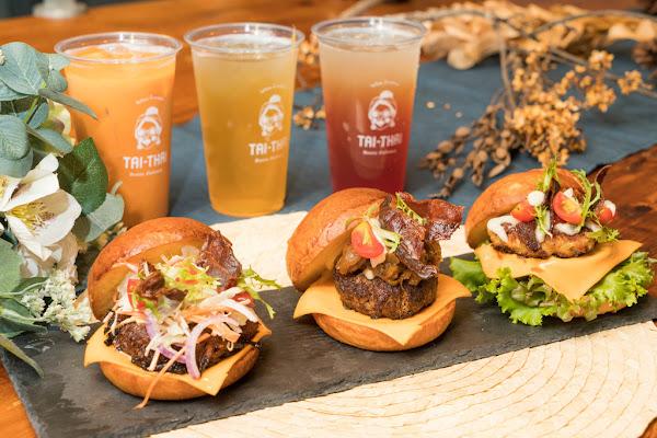 最時尚的泰式餐盒 Tai-Thai 汰汰熱情食堂 中山國中站美食 曼谷派迷你漢堡