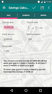 Savings Calculator- screenshot thumbnail