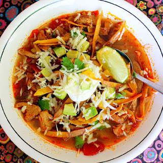 Eva Longoria's Chicken Tortilla Soup