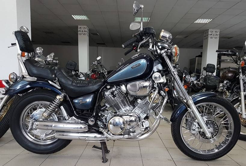 Yamaha XV 700 Virago -manual-taller-despiece-mecanica