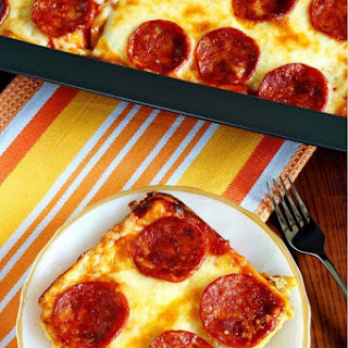 Low Carb Pizza Casserole - Gluten Free.