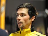 Primoz Roglic zet zijn leiderstrui in de verf in Ronde van Romandië
