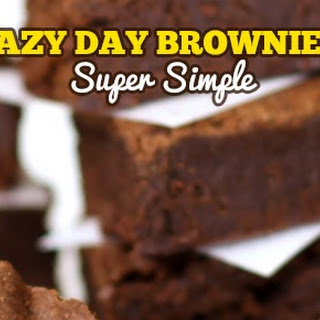 Lazy Day Brownies Recipe