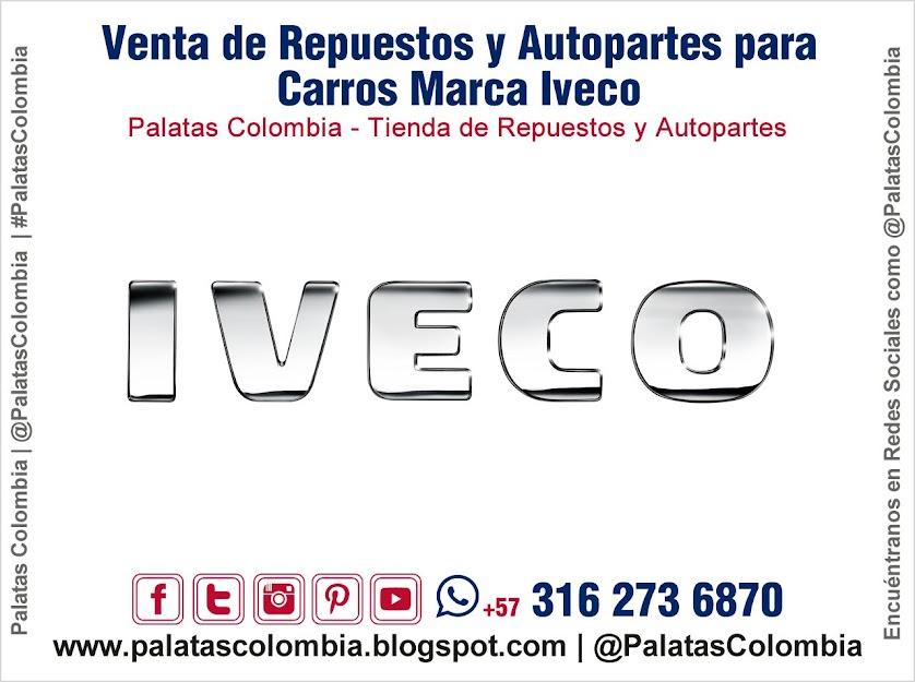 Venta de Repuestos y Autopartes para Carros Marca Iveco en Bucaramanga | Palatas Colombia Repuestos y Autopartes @PalatasColombia WhatsApp +57 3162736870