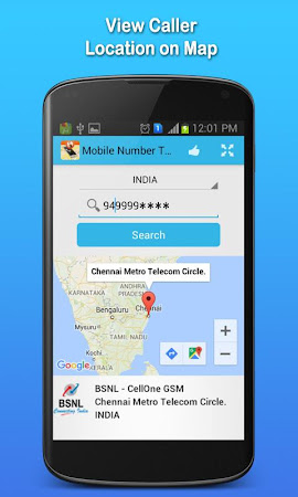 Mobile Number Tracker 1.7 screenshot 555405
