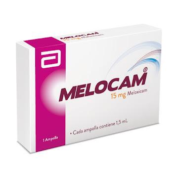 MELOCAM DISPERSABLE   1.5MG AMPOLLA CAJA X1AMP. LAFRANCOL MELOXICAM