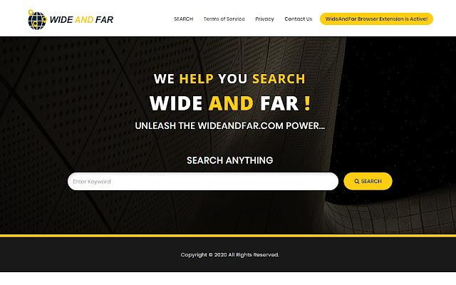 WideAndFar.com Search