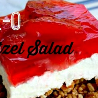 Ever Popular Jell-O Pretzel Salad.