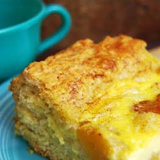 Peach Kuchen.