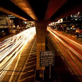 by Jr Flores - City,  Street & Park  Street Scenes