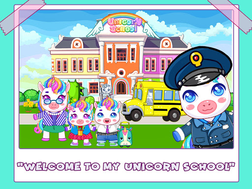 Mini Town: Unicorn School android2mod screenshots 1
