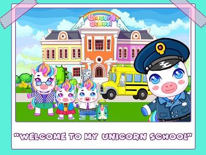 Mini Town: Unicorn School Mod Apk (Full Unlocked + No Ads) 1